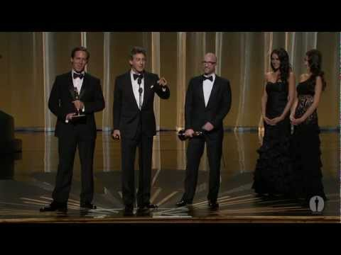 The Descendants Wins Adapted Screenplay: 2012 Oscars