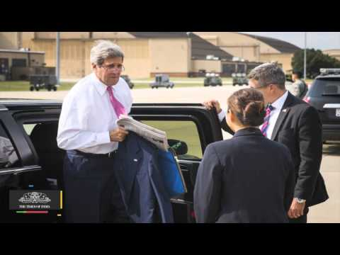 US Secretary Of State John Kerry Arrives In India To Reboot Ties With Modi - TOI