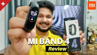 Mi band 4 Unboxing & Full Review | Best Budget Fitness Band 🔥🔥🔥
