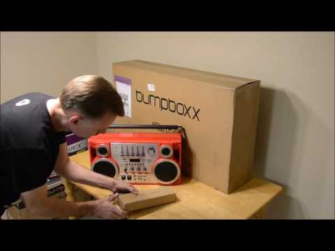 DJ Boombox and Bumpboxx unboxing