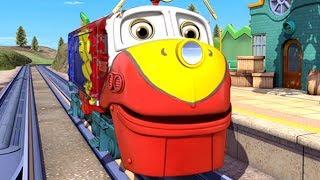 Chuggington   Chug-O-Flage Compilation   Cartoons for Kids   Funny Clips