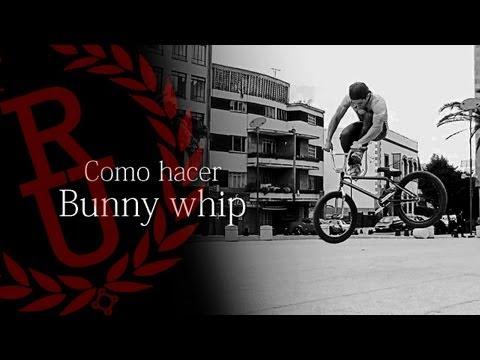 BMX - How to tailwhip (Bunny whip)   Como hacer bunny hop tailwhip