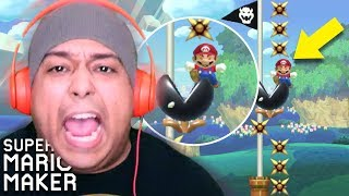 WHY WOULD YOU PUT THIS AT THE ENDING!!? [SUPER MARIO MAKER] [#179]
