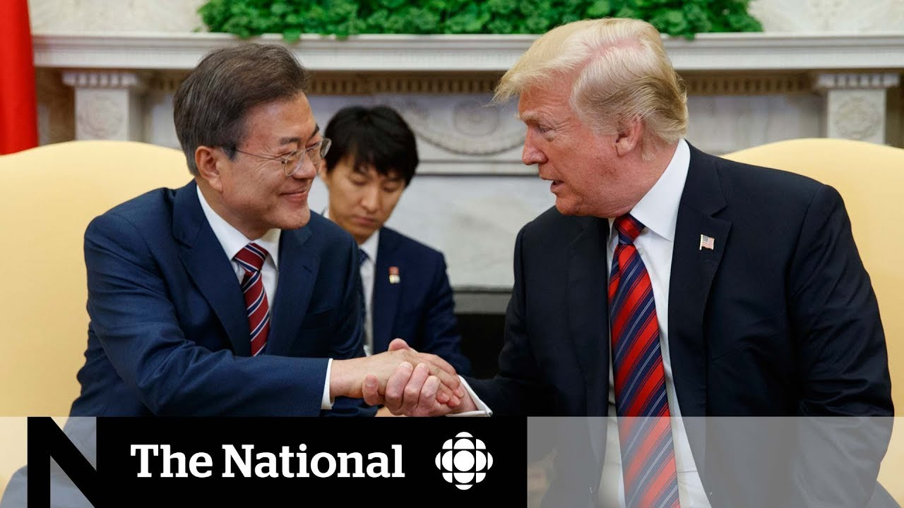 Trump meets Moon Jae-in, throws Kim-Jong-un meeting into doubt