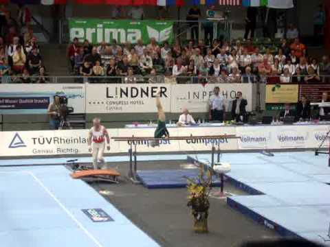 86!!!-year-old Johanna Quaas - exhibition parallel bars routine at the 2012 Cottbus World Cup!