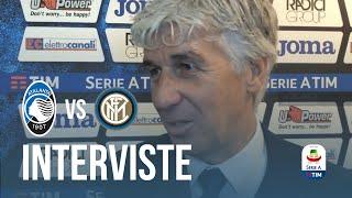 """Atalanta-Inter 4-1, Gian Piero Gasperini: """"I ragazzi hanno disputato una partita eccezionale"""""""