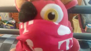Foxy tell you about the Fortnite event from fnaf news channel 7