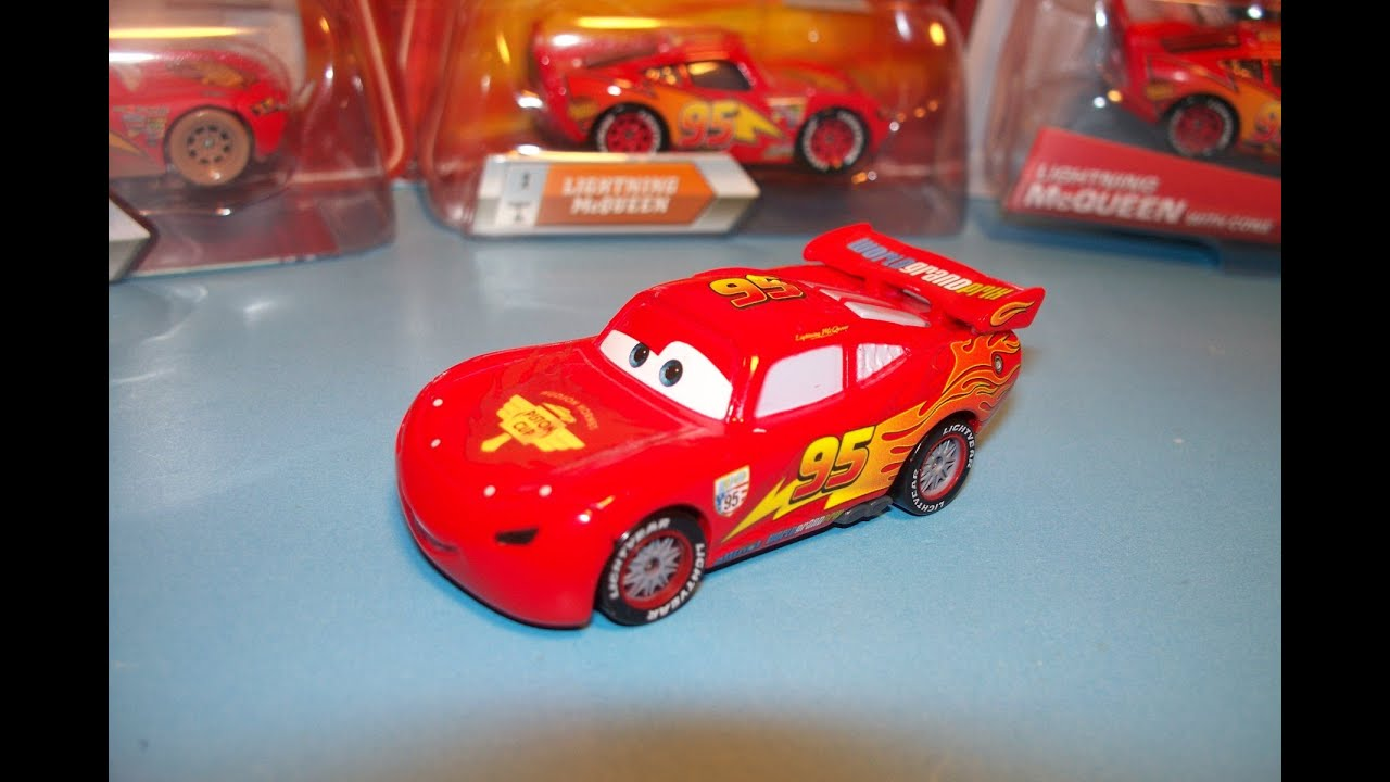 Disney Pixar Cars 2 Lightning Mcqueen Lights And Sounds