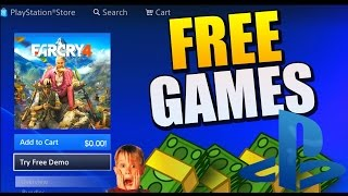 FREE PS4 GAMES GLITCH  - HOW TO GET PS4 GAMES FOR FREE! 2017