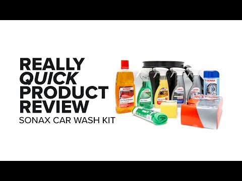 The Ultimate Sonax Car Wash Kit - Really Quick Product Review