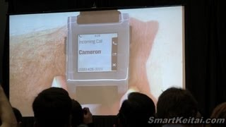 Pebble E-Paper SmartWatch for Android, iPhone - Press Conference CES 2013