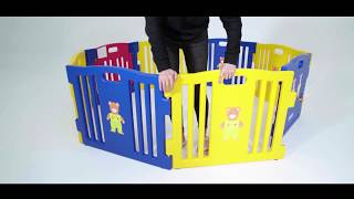 BB42118 How to make your Baby play fun in baby playpen
