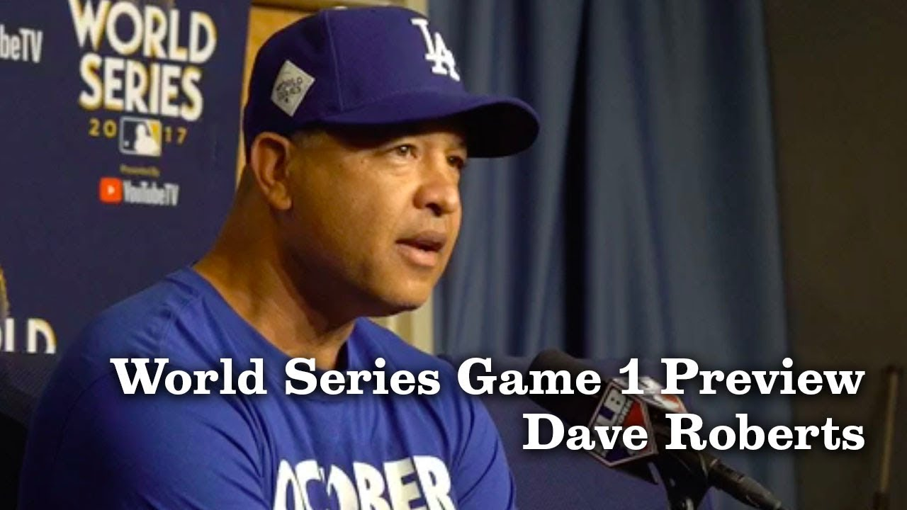 Dave Roberts on the World Series Roster and Taking a Moment | Los Angeles Times