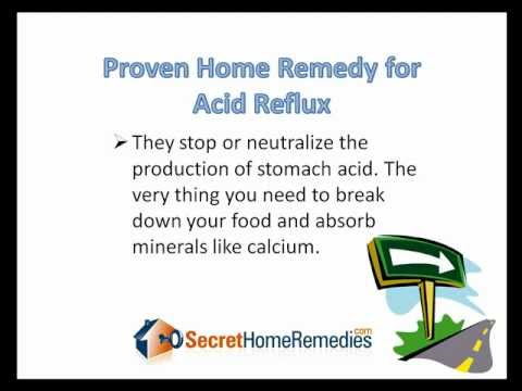 Acid Reflux Home Remedy - Discover our Secret Home Remedy For Acid Reflux