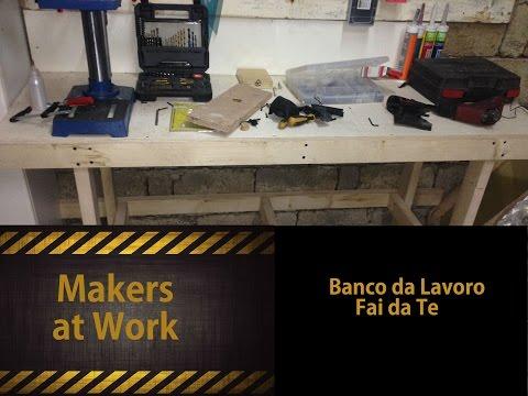 Come Costruire Un Banco Da Lavoro Pictures to pin on Pinterest