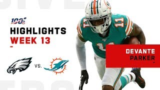 DeVante Parker Lifts Dolphins to Victory | NFL 2019 Highlights
