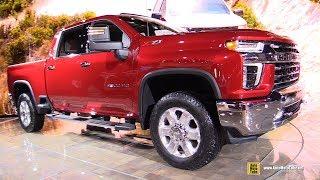 2020 Chevrolet Silverado 2500 HD - Exterior Interior Walkaround - Debut 2019 Chicago Auto Show