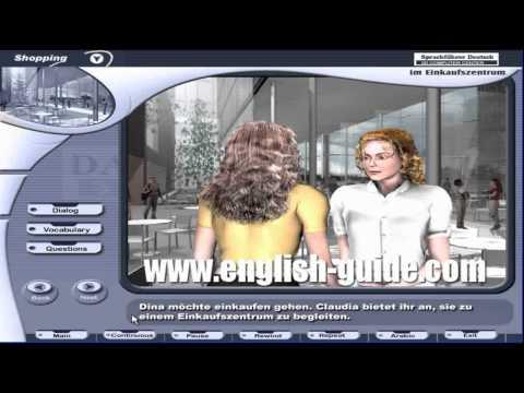 برنامج تعليم اللغة الألمانية - محادثة  المول التجاري
