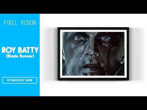 Roy Batty [Blade Runner] (Time-Lapse Painting)