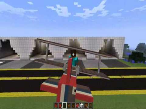 Minecraft-Mods de aviones. coches. armas y mas...