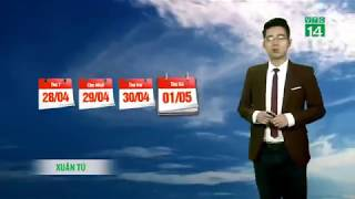 VTC14 | Thời tiết cuối ngày 01/05/2018 | Đêm nay và sáng mai thời tiết Bắc bộ vẫn ổn định