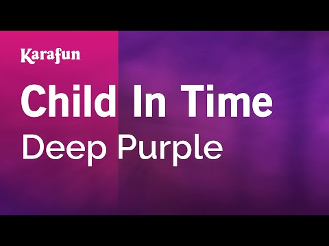 Karaoke Child In Time - Deep Purple * video