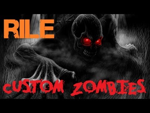 Custom Zombies - Rile: Stammin' Up on a 3-Room Map?  (Part 1)