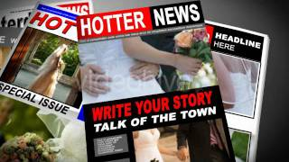 After Effects Templates Paparazzi Tabloid Newspaper Free Download