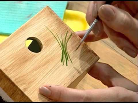 Pintura imitaci ón madera