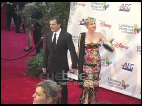 Antonio Banderas and Melanie Griffith, at Children's Hospital Los Angeles Gala