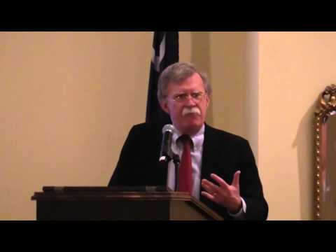 Amb. John Bolton speaks at South Carolina NSAS