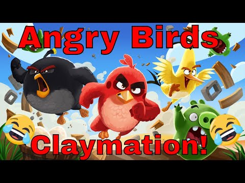 Angry Birds Claymation