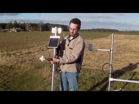 Installing an Adcon RTU & Solar Radiation Sensor