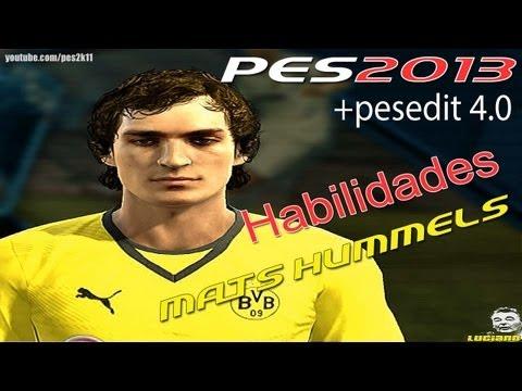 Mats Hummels Habilidades PES 2013 + PESEDIT 4.0