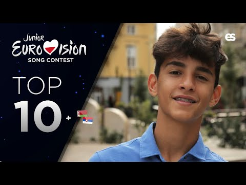 Junior Eurovision 2020: Top 10 (So far +