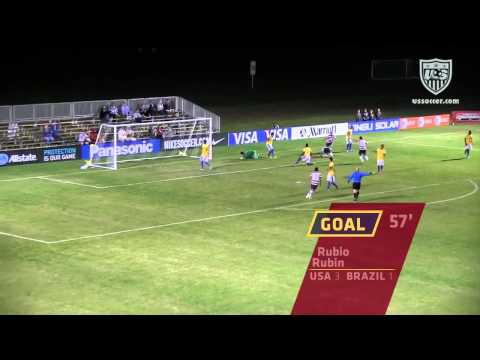 ‪U-17 MNT vs. Brazil: Highlights - Nov. 28, 2012‬
