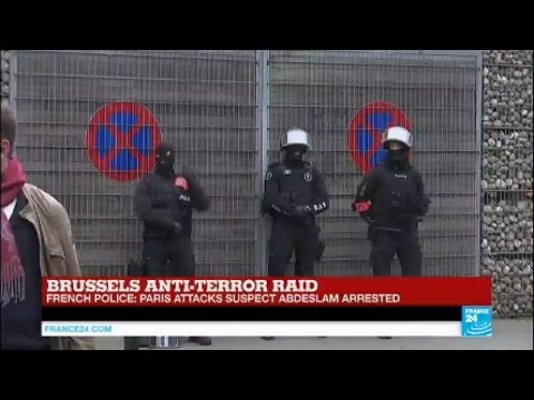 Paris Attacks: terrorist Salah Abdeslam wounded and arrested during Brussels police raid