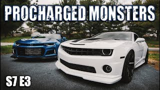 F1A-94 Procharged ZL1 & F1A Procharged Camaro SS | RPM S7 E3