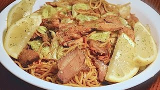 Cooking | Pansit Miki Guisado | Pansit Miki Guisado
