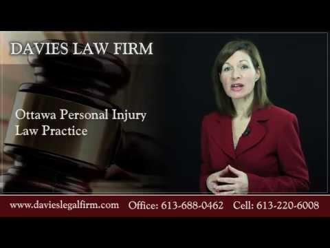 Ottawa Personal Injury Lawyer - Tanya Davies Law Firm