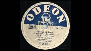 Räuberballade Es War Einmal Ein Räuber--Bully Buhlan, Erwin Lehn & Sein Tanzorchester