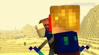 Hoạt hình Minecraft Đại chiến Hero (nhạc super hero)