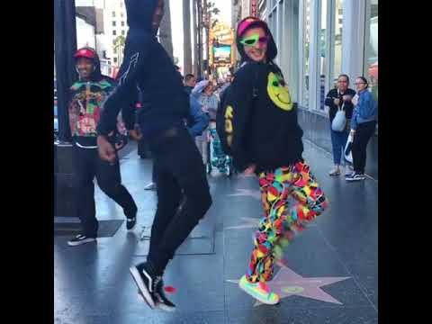 "Roy Purdy & Blocboy JB - ""Look alive"" Dance"