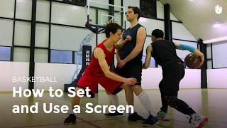 Setting and Using a Screen | Basketball