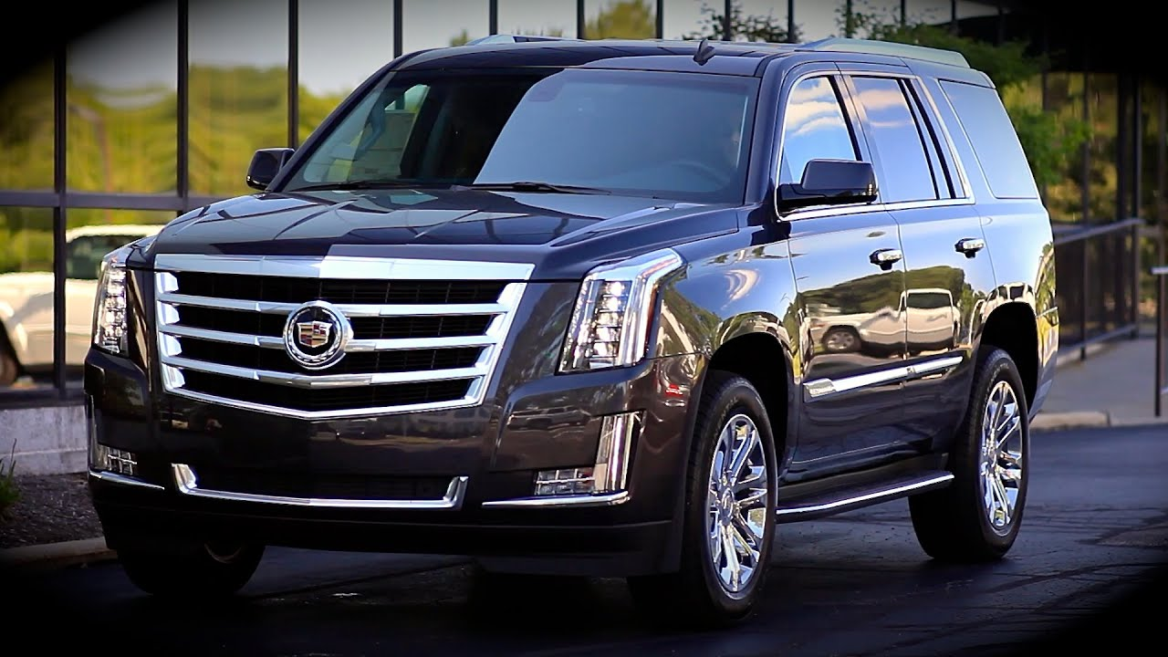 2015 Cadillac Escalade 4x4 Start Up Full Review Amp Test