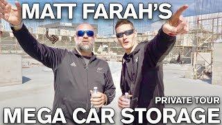 MUST SEE: Matt Farah's MEGA Collector Car Storage