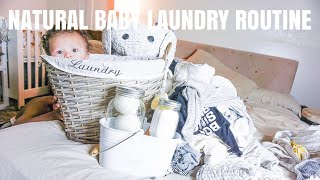 BABY LAUNDRY ROUTINE | NATURAL LAUNDRY ROUTINE |