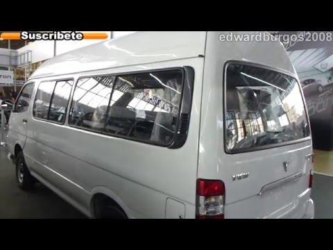 foton van view 2013 precio colombia video auto show medellin 2012 FULL