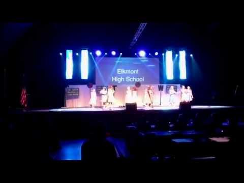 Elkmont High School SR Beta Nationals Motown 2014