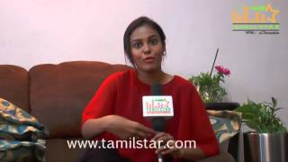 Chandini Tamilarasan  Press Meet For Vil Ambu Movie